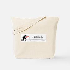 """""""I Redfish"""" Tote Bag"""