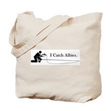 """I Catch Albies"" Tote Bag"