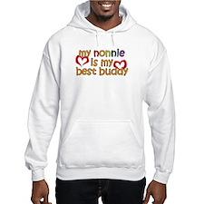Nonnie is My Best Buddy Hoodie