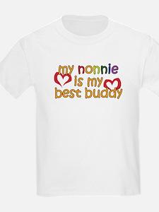 Nonnie is My Best Buddy T-Shirt