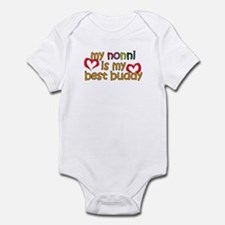 Nonni is My Best Buddy Infant Bodysuit