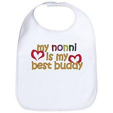 Nonni is My Best Buddy Bib