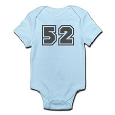 Number 52 Infant Bodysuit