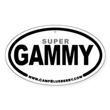 Super Gammy Oval Decal