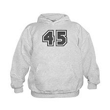 Number 45 Hoodie