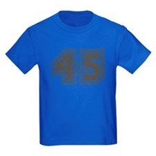 Number 45 T