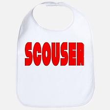 Scouser Red w/Black Bib