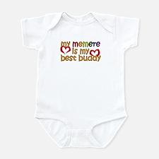 Memere is My Best Buddy Infant Bodysuit