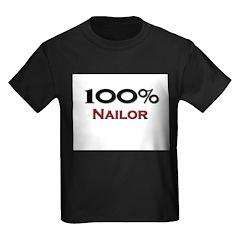 100 Percent Nailor Kids Dark T-Shirt