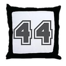 Number 44 Throw Pillow