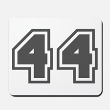 Number 44 Mousepad