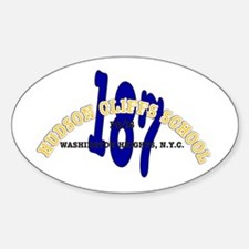 PS/IS 187 Oval Decal