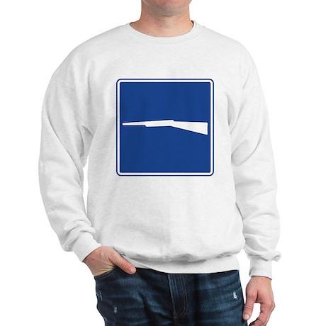 Firearms Sign Sweatshirt
