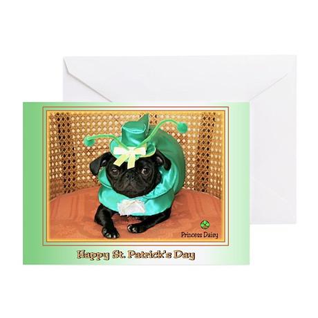 Blarney Pug Greeting Cards (Pk of 10)