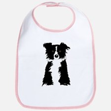 Border Collie Bib