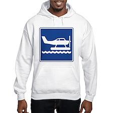 Seaplane Sign Hoodie
