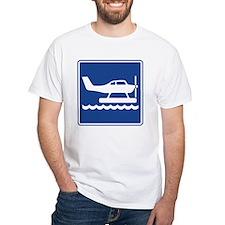 Seaplane Sign Shirt