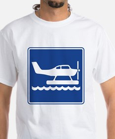 Seaplane Sign Shirt