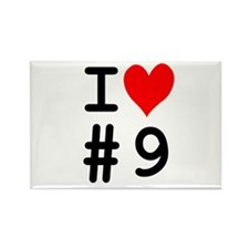 I Heart Client #9 Rectangle Magnet