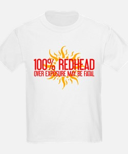 100% Redhead - Over Exposure T-Shirt