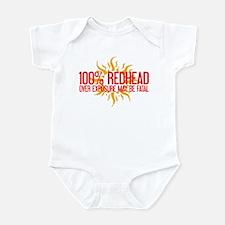 100% Redhead - Over Exposure Infant Bodysuit