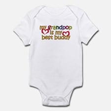 Grandpop is My Best Buddy Infant Bodysuit