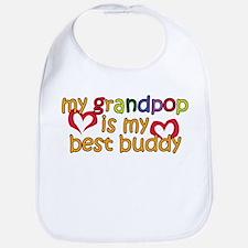 Grandpop is My Best Buddy Bib