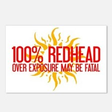100% Redhead - Over Exposure Postcards (Package of