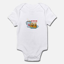 Coffee Cream Puff Infant Bodysuit