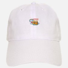 Coffee Cream Puff Baseball Baseball Cap