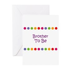 Brother To Be Greeting Cards (Pk of 10)