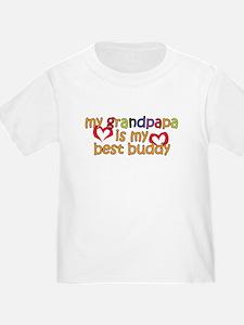 Grandpapa is My Best Buddy T