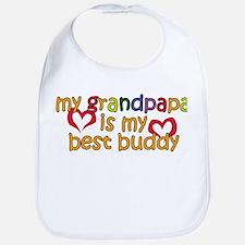 Grandpapa is My Best Buddy Bib