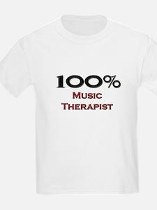 100 Percent Music Therapist T-Shirt