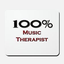 100 Percent Music Therapist Mousepad