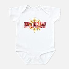 100% Redhead - Apply Sun Risk Infant Bodysuit