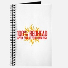 100% Redhead - Apply Sun Risk Journal