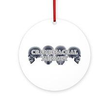 Craniosacral Therapy Ornament (Round)