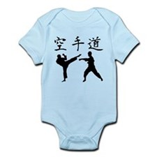 Karate Silhouette Infant Bodysuit