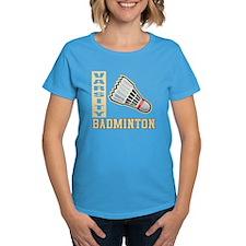 Badminton Varsity Tee