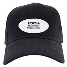 100 Percent Multimedia Programmer Baseball Hat