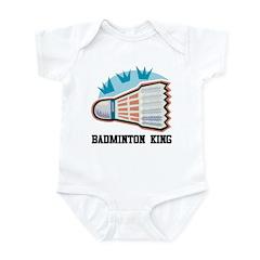 Badminton King Infant Bodysuit