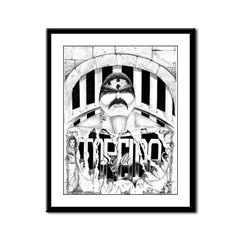 TORCIDO STYLE Framed Panel Print