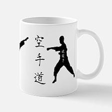 Karate Silhouette Mug