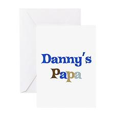 Danny's Papa Greeting Card