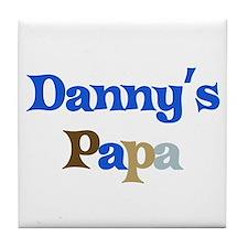 Danny's Papa Tile Coaster