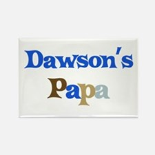 Dawson's Papa Rectangle Magnet