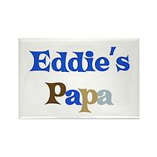 Eddie's Papa Rectangle Magnet