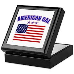 American Gal Keepsake Box