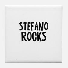 Stefano Rocks Tile Coaster